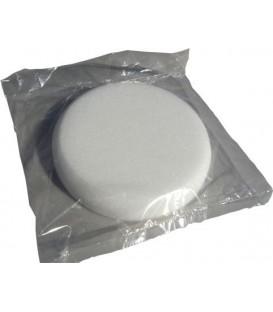 Witte polijstmousse 145mm x 25mm