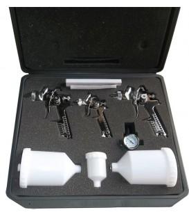H827 - Kit 3 pistolen 0.8mm-1.4mm-1.7mm