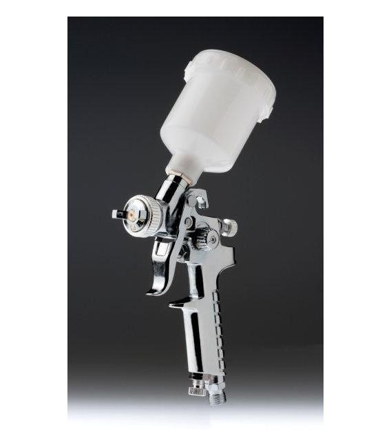 Mini pistolet HVLP 0.8mm chrome