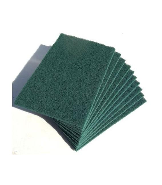 Eponge abrasives 4 types (lot de 5) Verte