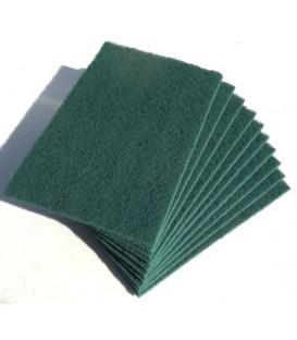 Eponge abrasives 4 types (lot de 5) Verte