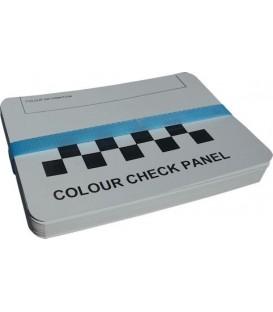 Metalen panelen voor het vervaardigen van verfmonsters (100 stuks)