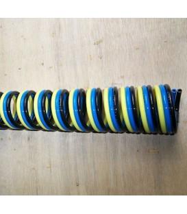 Spiraalbuizen, eenvoudig dubbel en drievoudig