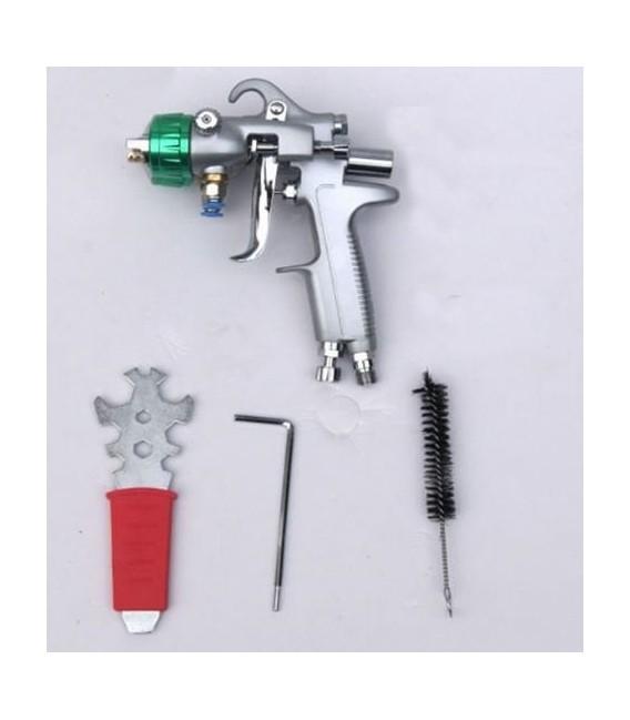 Spuitpistool met dubbel mondstuk voor verchroming