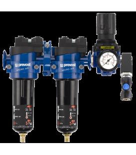 Luchtreinigende filters voor compressors en spuitpistolen.