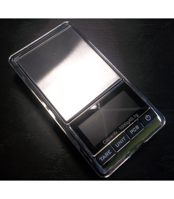 Precisie-mini-weegschaal 0.1g-1000g DS16