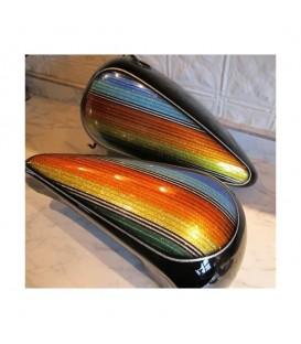 Kit verf met glitter effect voor moto's