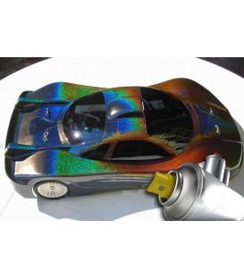 Verf spuitbus met 3D Hologram effect