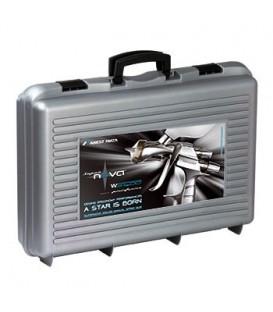 KOFFER 2 IWATA SPUITPISTOLEN - LS400 Entech + WS400 EvoClear