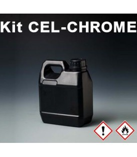 BLANKE LAK Cel-Chrome VOOR CHROOM
