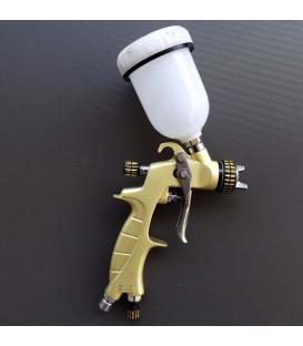 Mini pistolet SAT HVLP Premium Gold 0.8mm + 1.0mm