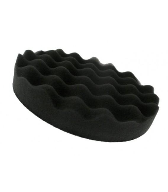 """Zwarte """"wafel"""" embossing foam 15 cm"""