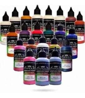 Serie Kameleon – 20 Stardust® acryl-PU verven pour airbrush