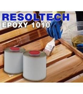 Epoxyhars 1010 met water voor vernissen of impregneren