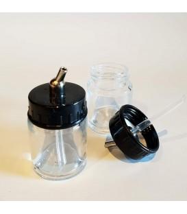Glazen airbrush emmers 16 ml