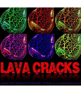 LAVA CRACKS crackled effect verf