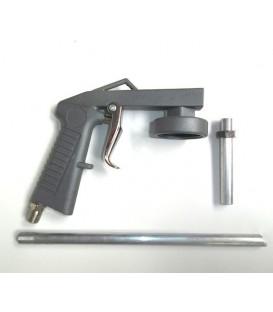 Zwartachtig anti-grit pistool