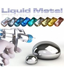 Metaalkleur met spiegelglans afwerking van roestvrij staal