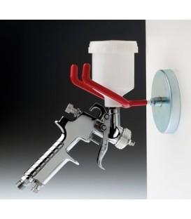 Ondersteuning voor metalen en magnetische verfspuitpistool