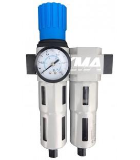 Sub-micron luchtreiniger voor KMA-perslucht