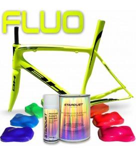 Complete fluorescerende verfset voor fietsen