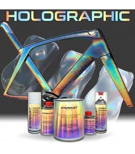 Complete holografische verf set voor fiets