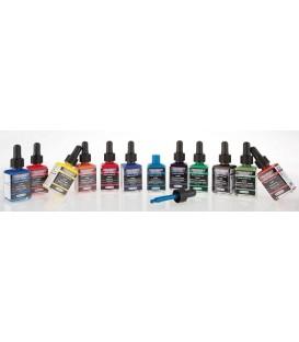 De 12 ondoorzichtige kleuren Total Cover AERO COLOR Professional