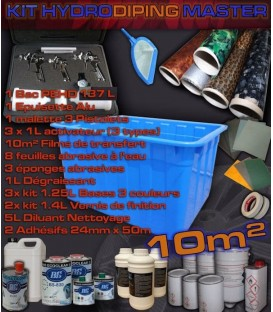 complete kits voor Hydrodipping