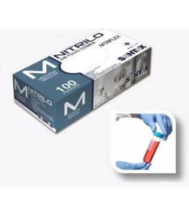 Wegwerphandschoenen in nitril (X100)