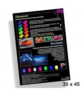 More about Poster 30x45cm Fluorescente verven