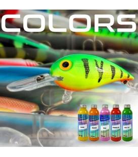 kleuren en tinten voor kunstaasen