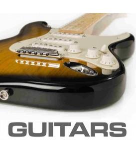 De verven voor de gitaren